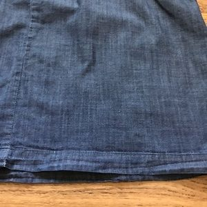 J. Crew Factory Tops - Blue Chambray Tank Waist Pockets by J.Crew Factory